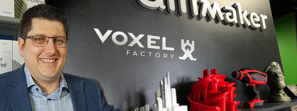 Picture of Voxel Factory President Francois Lahey logo in About Us page