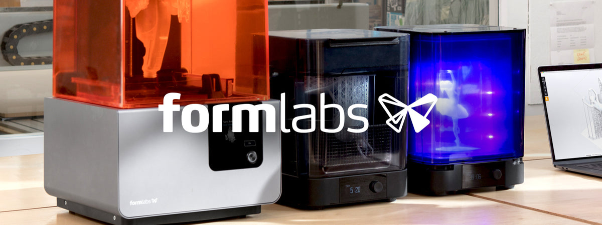 Formlabs Form 2 3D Printer, Wash & Cure units Banner