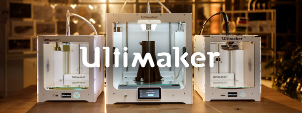 Picture of Ultimaker 3D Printer collection at Voxel Factory 3D printing Store in Canada