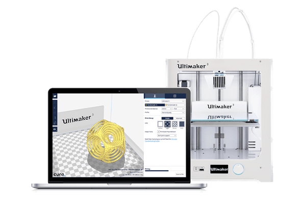 Image of Ultimaker Cura 3.0 software