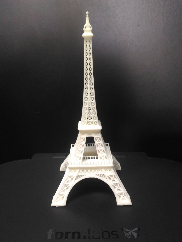 Picture of Eiffel Tower 3D printed on Formlabs Form 2 printer at Voxel Factory
