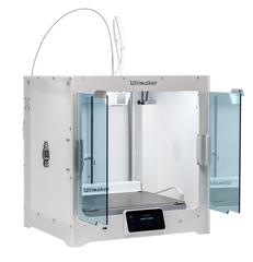Picture of Ultimaker S5 with open door enclosure Canada at Voxel Factory