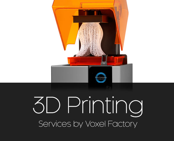 Voxel Factory SLA 3D Printing service