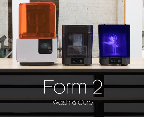 Formlabs Form 2 3D Printer, Wash & Cure units Thumbnail