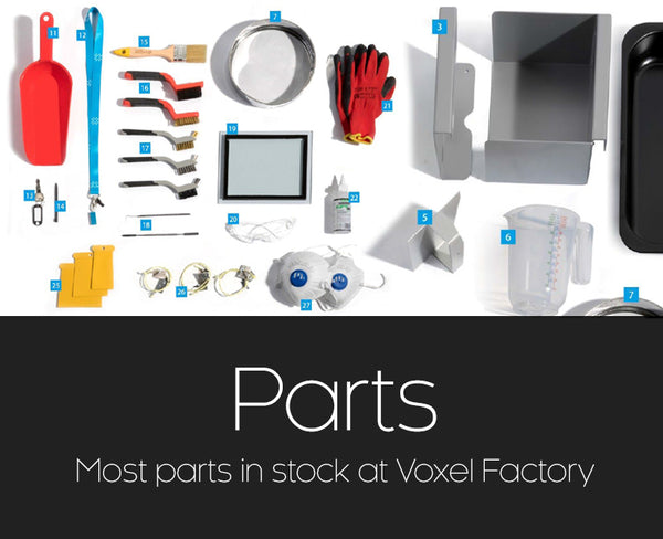 Sinterit parts and tools thumbnail