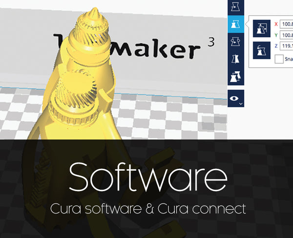 Ultimaker Cura software and Cura connect thumbnail