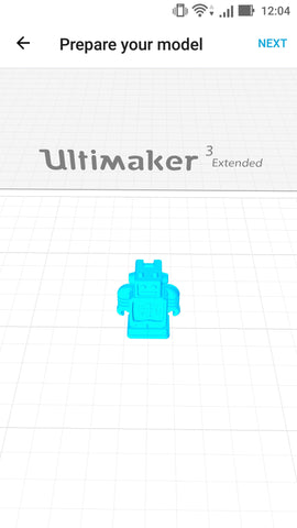 Ultimaker 3 extended 3D printer at Voxel Factory app