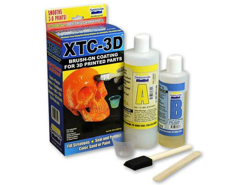 Picture of XTC-3D content of box at Voxel Factory