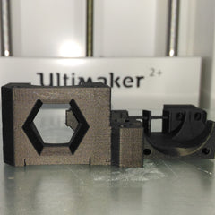 Carbon Fiber Colorfabb Fibre XT_CF20 printed on Ultimaker 2+ with Olsson Ruby