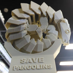 Picture of Materio3D Sandy Beige Pangolin Printed on Ultimaker 2+