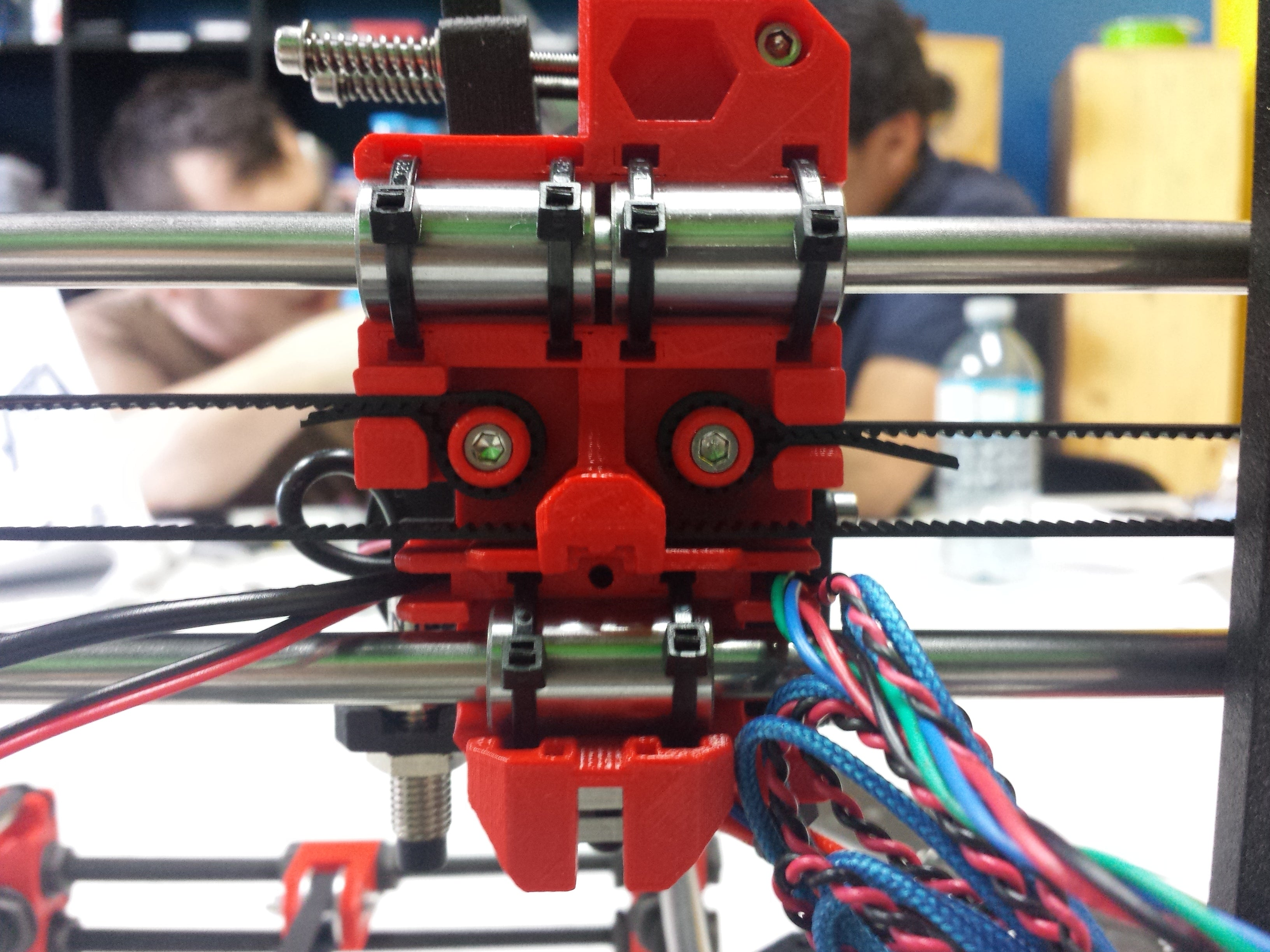 Picture of X-Carriage of Original Prusa i3 MK2 3D printer