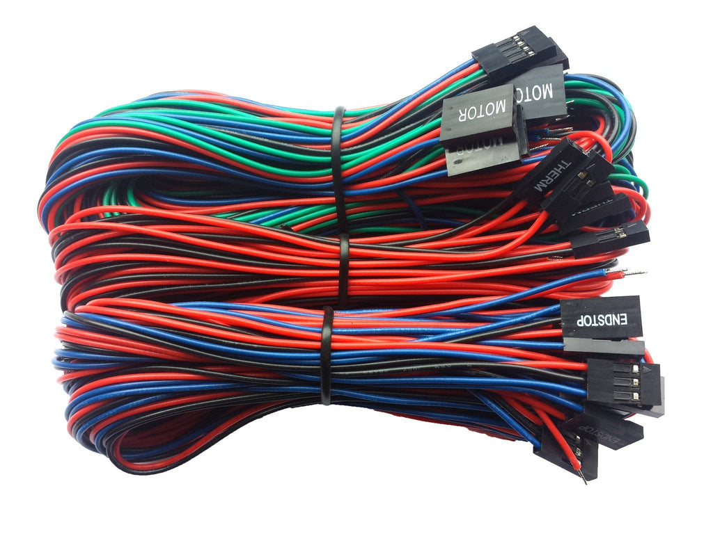 Generic Parts - Ramps Basic Wiring Kit For RepRap 3D Printers