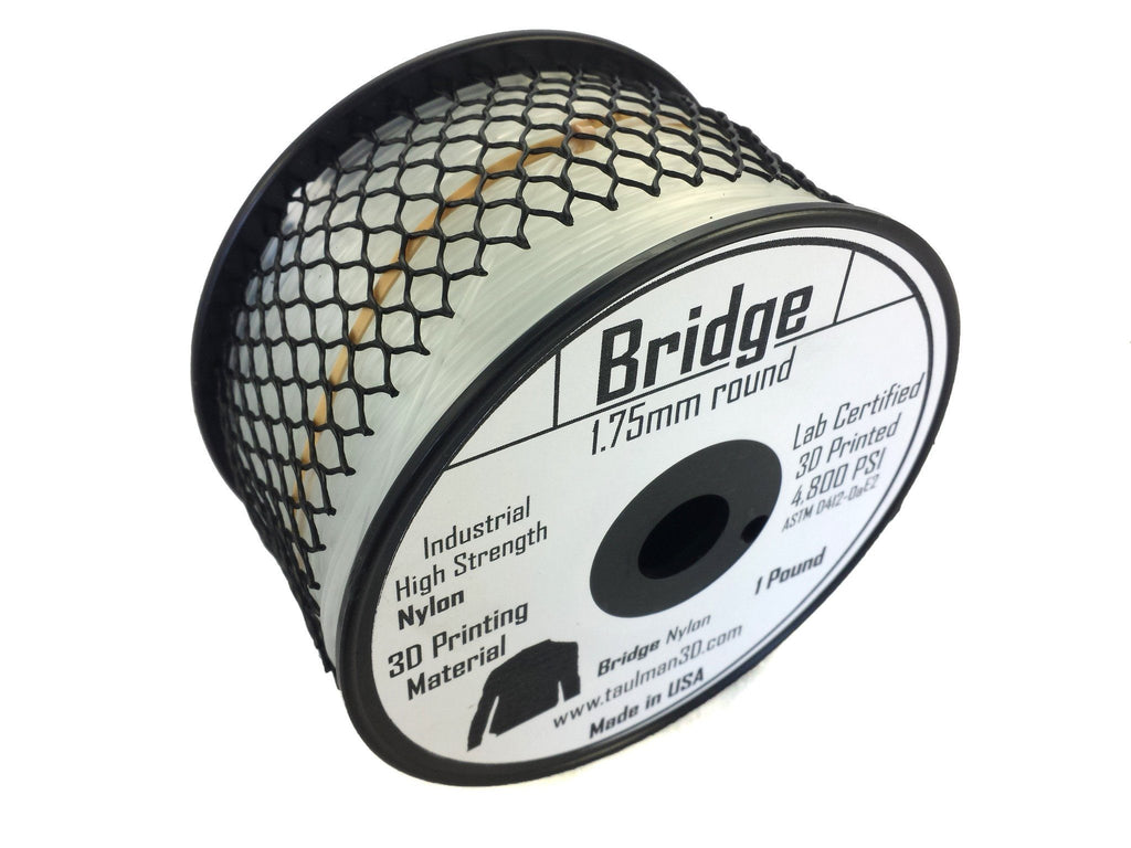 Open 1.75 Filaments - Taulman3D Bridge Nylon Natural 1.75mm 1lb