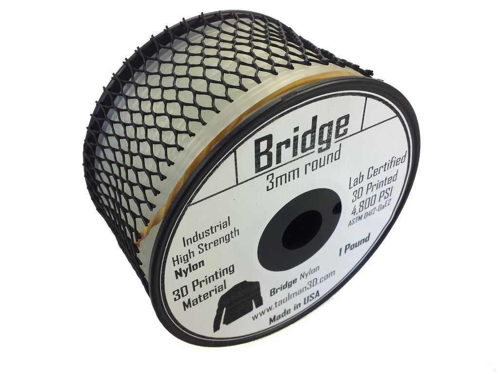 Open 2.85 Filaments - Taulman3D Bridge Nylon Natural 2.85mm 1lb