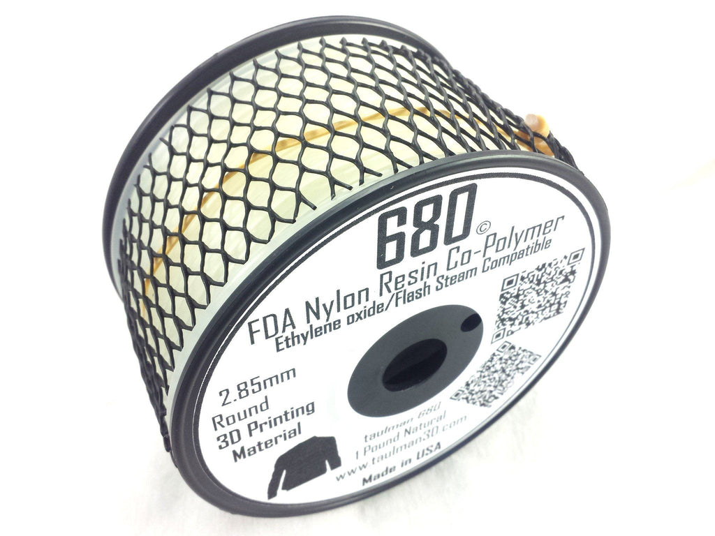 Open 2.85 Filaments - Taulman3D Nylon 680 FDA Natural 2.85mm 1lb