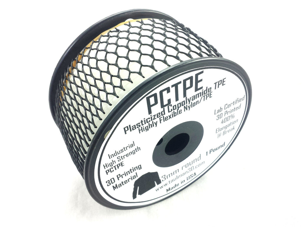 Open 2.85 Filaments - Taulman3D PCTPE Natural 2.85mm 1lb