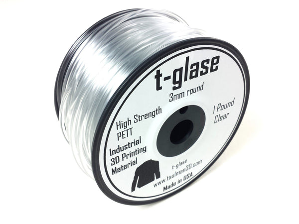 Open 2.85 Filaments - Taulman3D T-Glase Clear 2.85mm 1lb