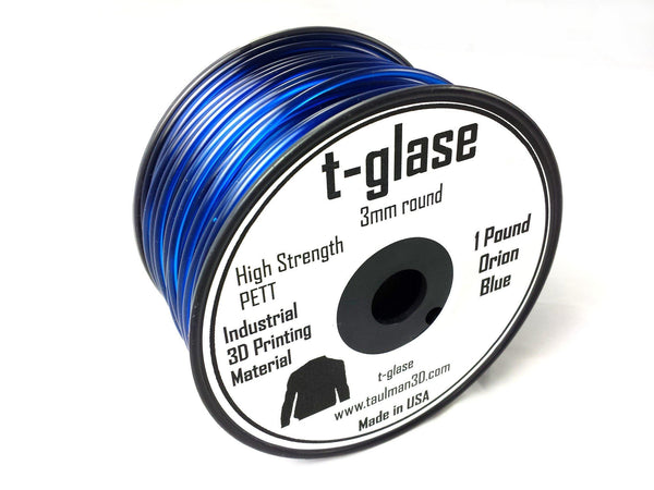 Open 2.85 Filaments - Taulman3D T-Glase Orion Blue 2.85mm 1lb