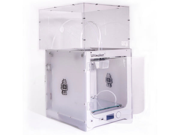 Open Parts - Ultimaker 2+ Enclosure Kit By Printed Solid