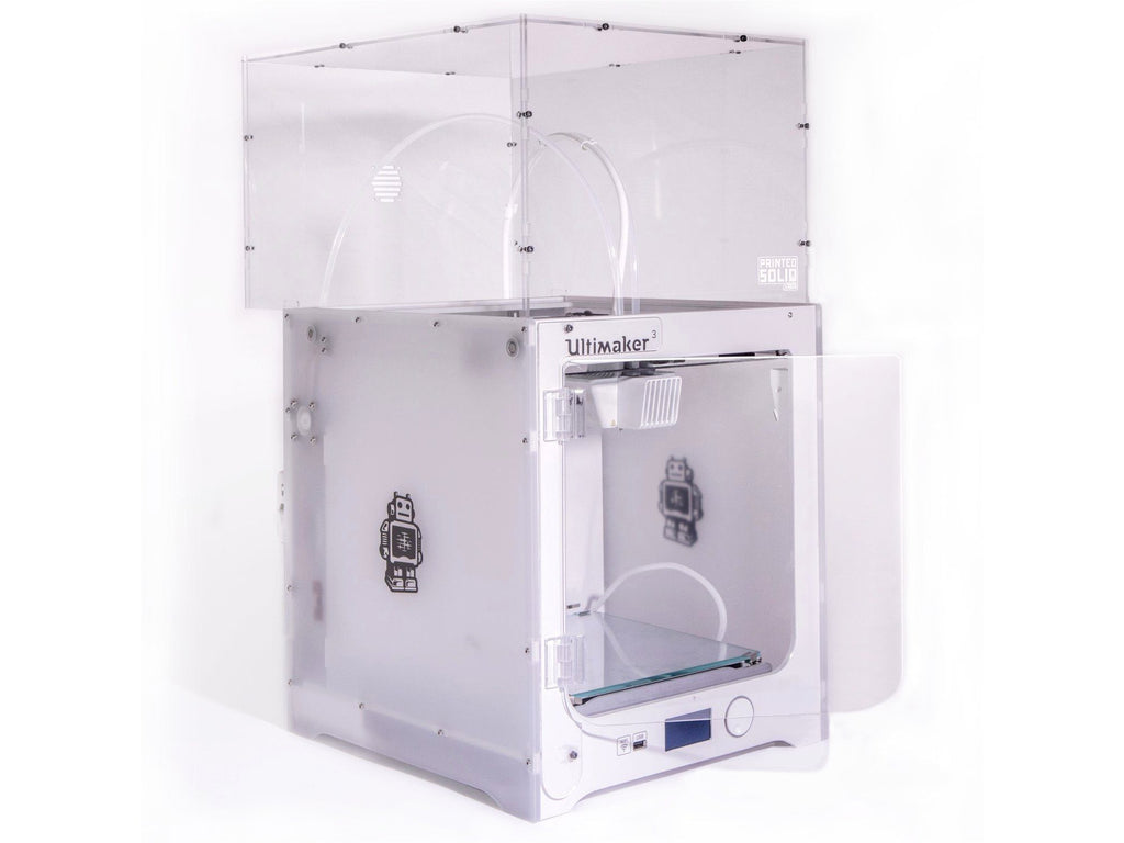 Open Parts - Ultimaker 3 Extended Enclosure Kit By Printed Solid
