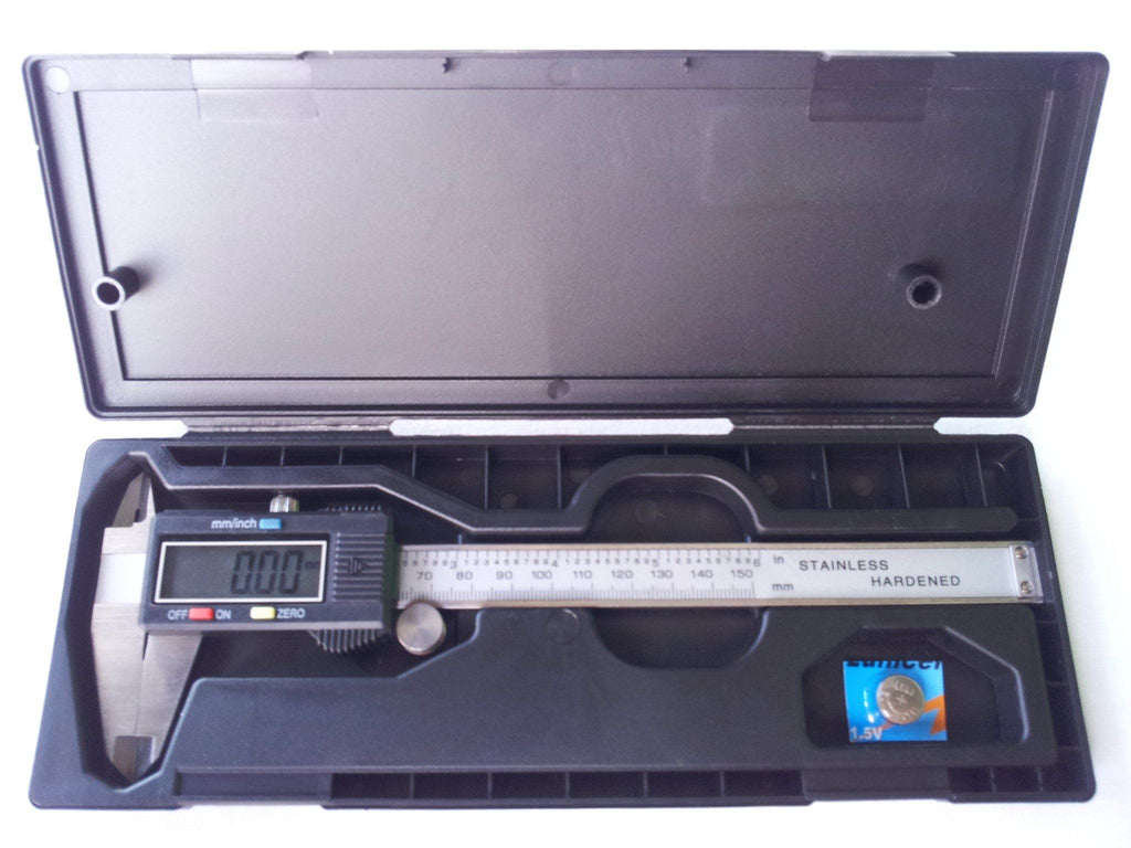 Tools - Digital Caliper 150mm With Spare Battery