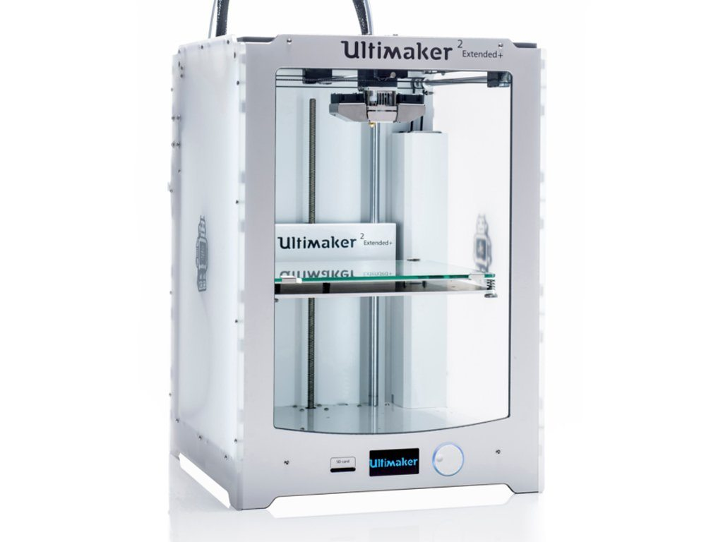 Ultimaker 3D Printers - Ultimaker 2+ Extended Single Extruder 3D Printer