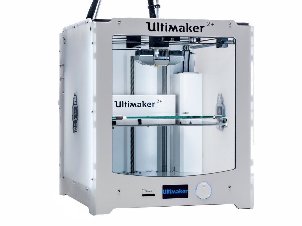 Ultimaker 3D Printers - Ultimaker 2+ Single Extruder 3D Printer