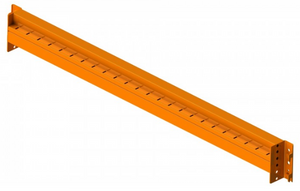 "Poutre en boite 48"" x 3"" couleur orange -- Box Beam 48"" X 3"" for Pallet Racking, Capacity 6000 lbs, Colour Orange, redi-Pallet Racking Compatible, Includes Safety Hardware"