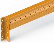 "Load image into Gallery viewer, Step beam for racking, 96"" long 4280 lbs capacity per pair"