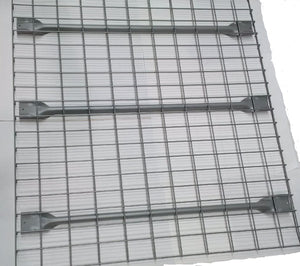 "Grillage de support 42"" x 46"" cap 2,500 lbs CDU couleur gris -- Wire mesh deck 42"" x 46"" with 3 supports, colour grey"