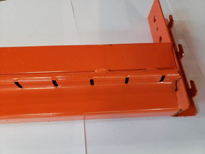 "Poutre style step 120"" x 5"" couleur orange -- Step beam 120"" x 5"" colour orange"