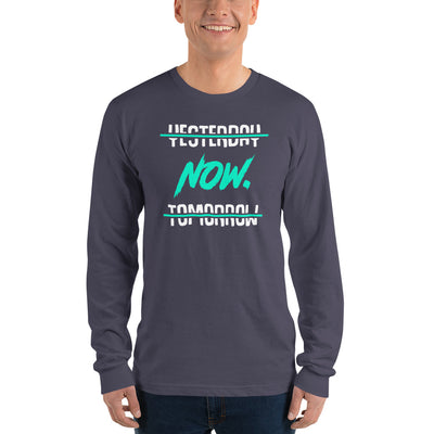 Yesterday, Tomorrow, Now | Men's Long Sleeve Shirt