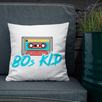 80s Kid Premium Pillow - SavvySleeves