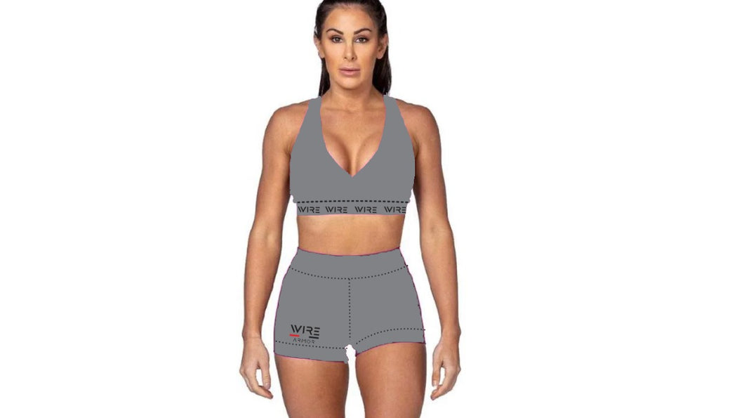 Wire Mentality - Woman Shorts Gym Set