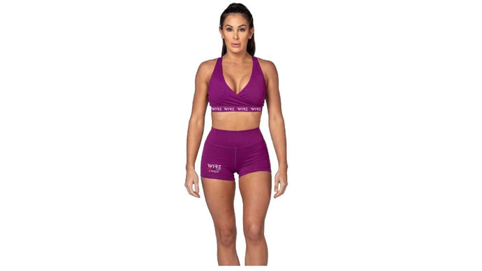 Wire Mentality - Woman Shorts Gym Set (Pre-Order)