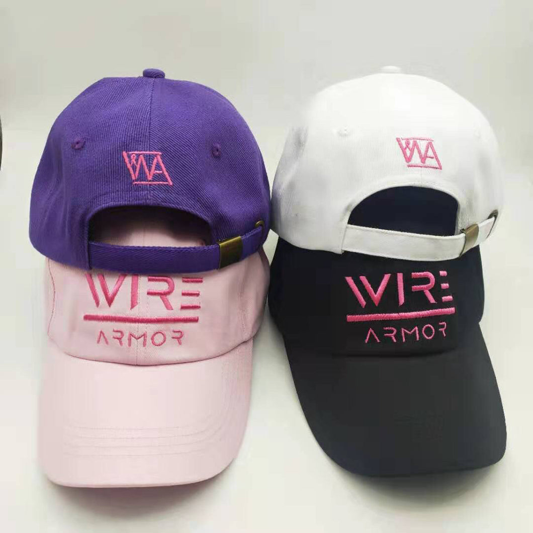 Breast Cancer Awareness Dad Hats (4 Colors)