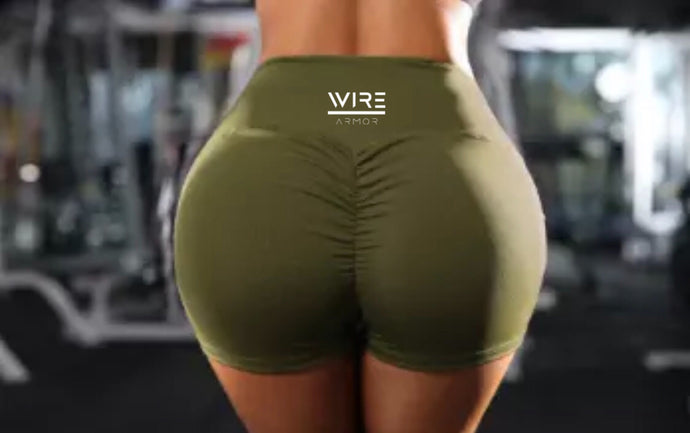 Wire Armor - Scrunch Yoga Shorts