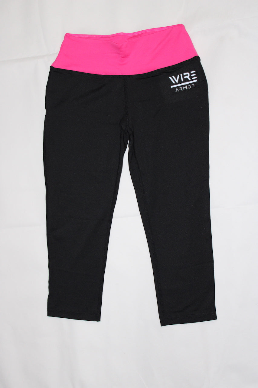 Wire Armor Capri Leggings