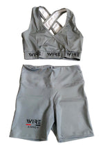 Load image into Gallery viewer, Wire Mentality - Woman Shorts Gym Set