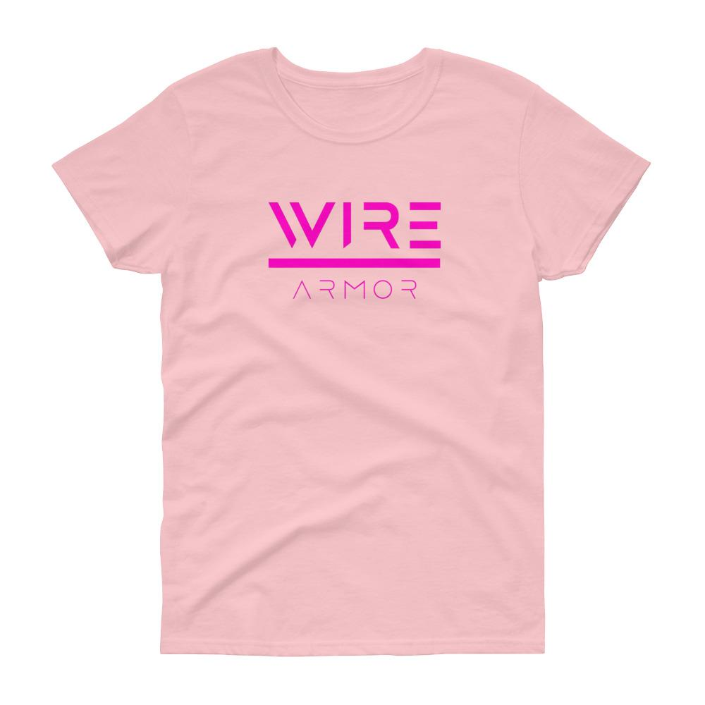 Women's short sleeve Breast Cancer Awareness T-Shirt (4 Colors)