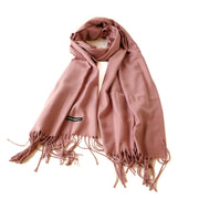 Skjerf Cashmere gammelrosa | Youtrend