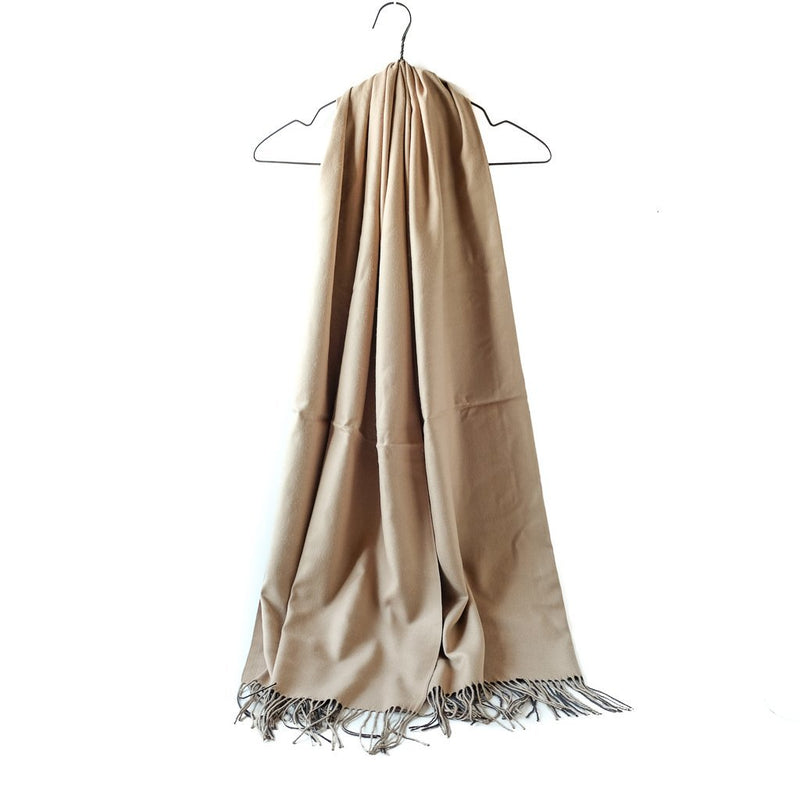 Skjerf Cashmere beige | Youtrend