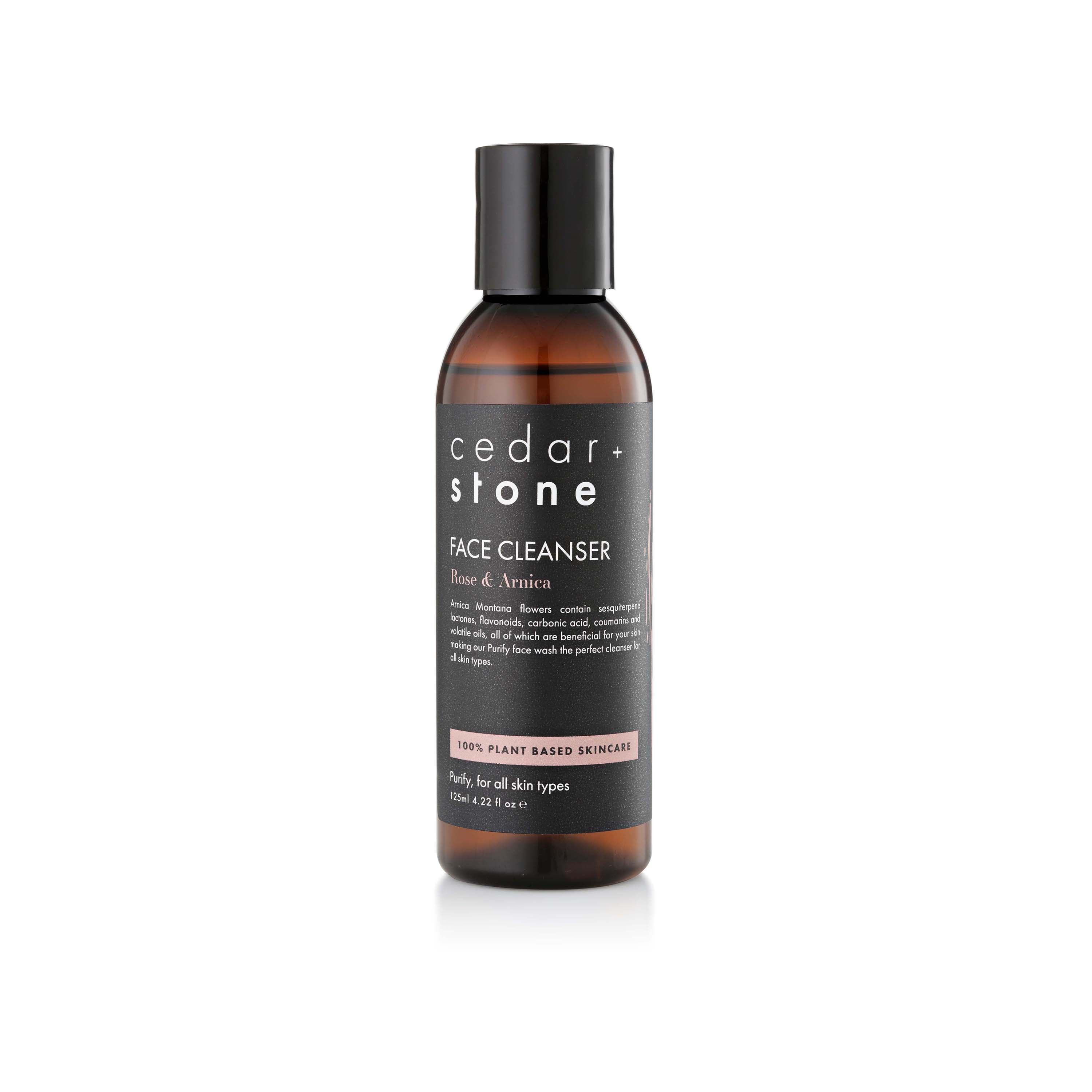 cedar+stone Rose & Arnica Face Cleanser 玫瑰山金車花卸妝潔面乳