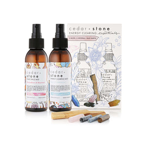 cedar+stone Energy Clearing Pack 舒坦提神能量禮盒