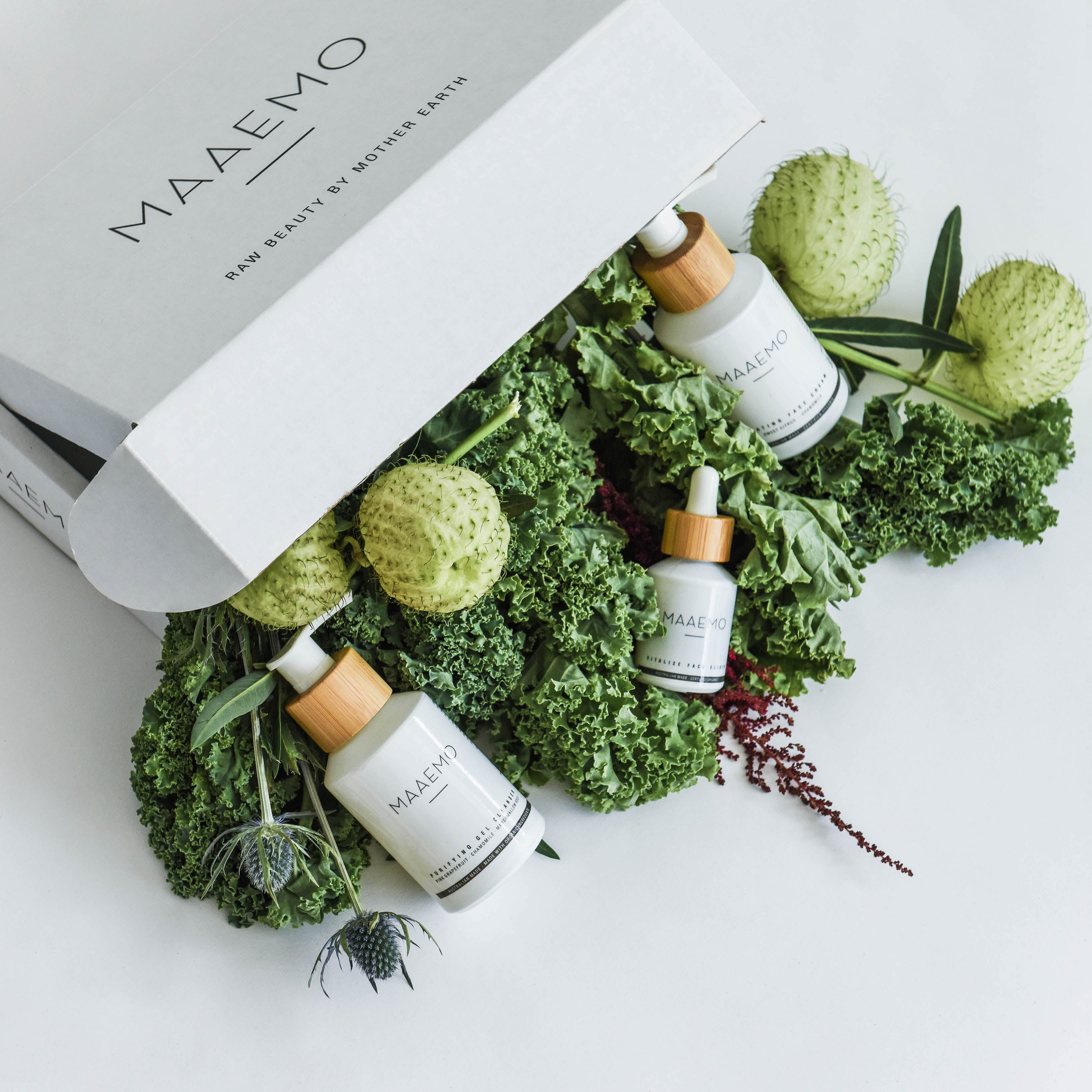 MAAEMO Vitalize Face Elixir-ACO Certified Organic 全效臉部煥膚精華油-獲澳洲有機認證