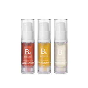 BIOLOGI Save My Skin Bundle Mini Pack 精華液3枝旅行裝
