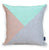 Two Up Cushion Cover - Mint & Peach