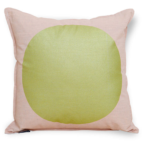 All That Glitters Cushion Cover - Peach