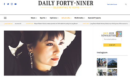 TIN HAUS on the Daily 49er Newspaper - Digital and Print
