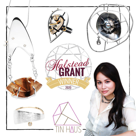 TIN HAUS Jewelry Designer Christina Grace wins the 2020 Halstead Grant!